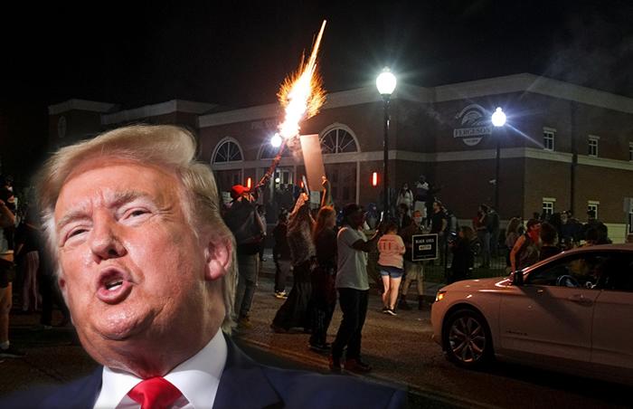 """อเมริกาลุกเป็นไฟ """"ทรัมป์""""จุกอก จุ้นคนอื่นจนลืมบ้านตัวเอง !!"""