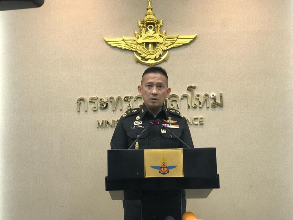กห.ตอบรับนโยบายนายกฯ เพิ่มขีดความสามารถรับคนไทยกลับประเทศ
