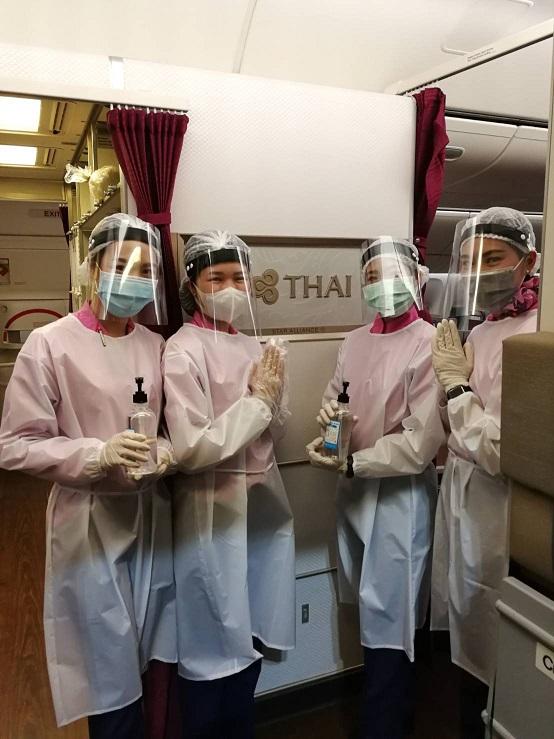 """การบินไทย จัดเที่ยวบินพิเศษ รับ 293 คนไทยกลับจาก """"ยูเออี"""""""
