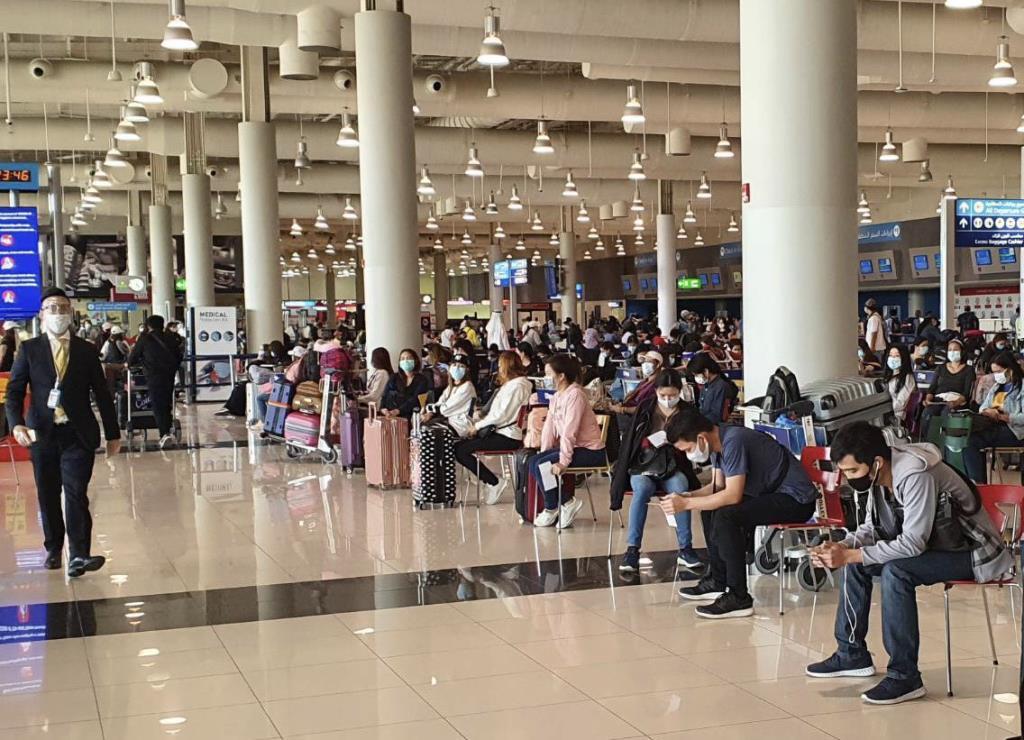 การบินไทย รับคนไทยจาก UAE กลับบ้าน 293 คน