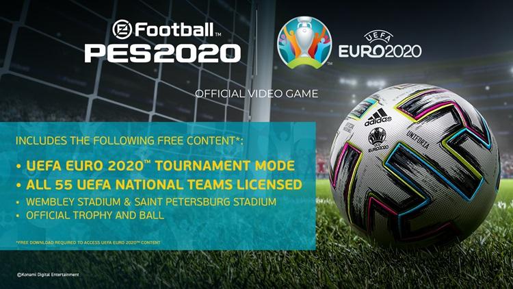 """วินนิ่ง อัปเดตฟรีศึก """"ยูโร 2020"""" เตะในเกม ก่อนฟาดแข้งจริงปีหน้า"""