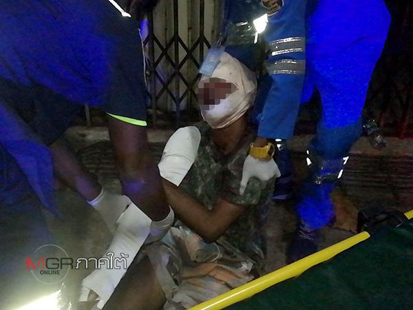 หนุ่มใหญ่ถูกวัยรุ่นทำร้ายที่หาดใหญ่ วิ่งหนีตายกว่า 300 เมตรก่อนหมดแรงร้องขอชาวบ้านให้ช่วยเหลือ