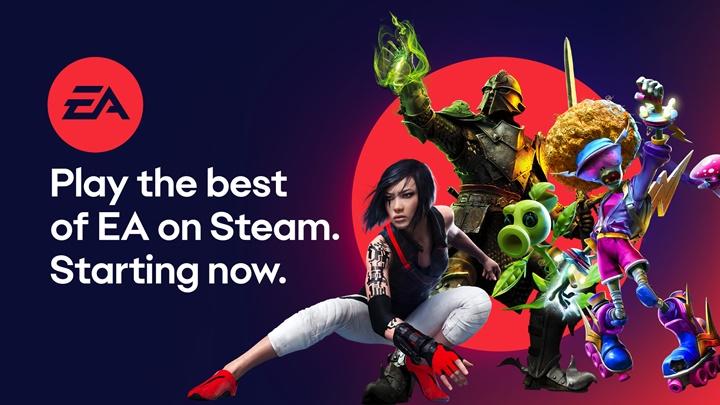 """""""EA"""" เพิ่มเกมชุดใหญ่ลงร้าน Steam บน PC"""
