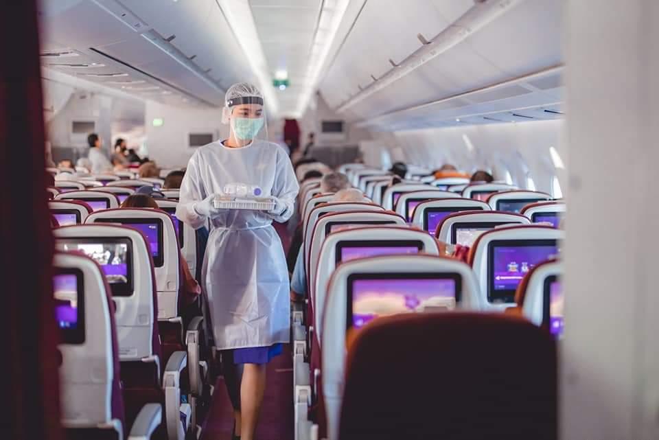 """การบินไทย รับคนไทย 290 คน กลับจาก""""ออสเตรเลีย"""""""