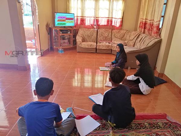 สพป.ปัตตานีเขต 3 เดินหน้าห้องเรียนออนแอร์ รวมกลุ่มเยาวชนเรียนที่บ้านอย่างมีความสุข