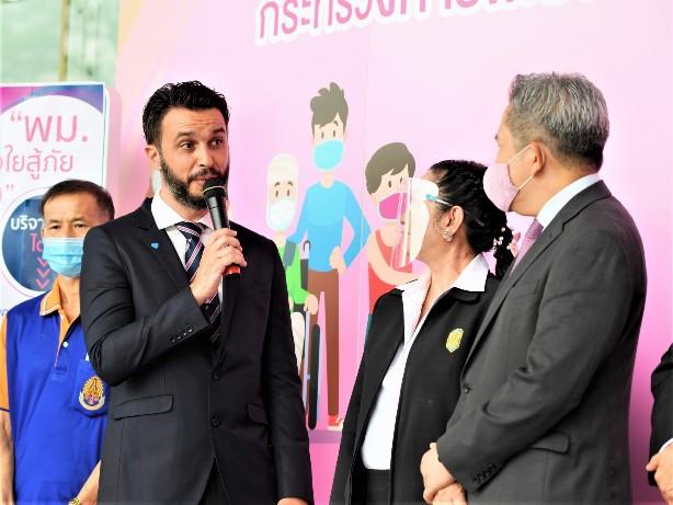 ซีซีเอส แผนกยูโรฟู้ด จับมือ สมาคมภัตตาคารไทย สนับสนุน โครงการ พม. เราไม่ทิ้งกัน
