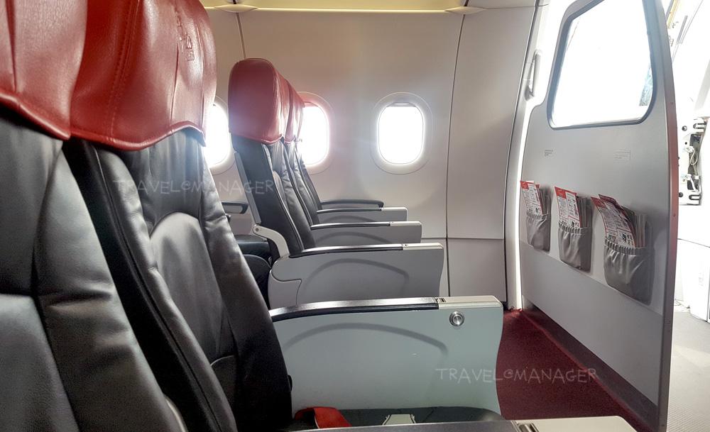 ที่นั่งบนเครื่องบินต้องเว้นระยะห่าง