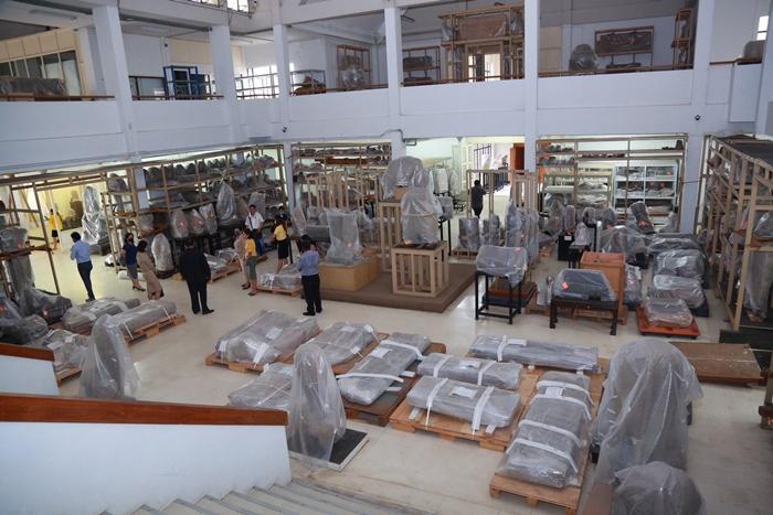 กรมศิลป์ เผยคลังกลางพิพิธภัณฑ์ฯสุดไฮเทค