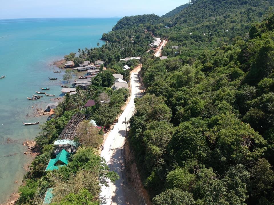 ถนนเชื่อมเกาะลันตา ยาว 21 กม.เสร็จก.ย.64 นี้  ท่องเที่ยวสะดวก