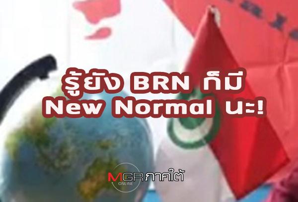 """รู้ยัง BRN ก็มี New Normal นะ! อย่าใช้ """"งบฯ การข่าว"""" ไปซื้อตั๋วทัศนาจรแบบให้ผ่านไปวันๆ"""