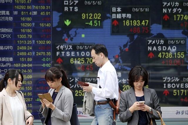 ตลาดหุ้นเอเชียปรับบวก ขานรับดาวโจนส์ปิดพุ่งกว่า 500 จุด