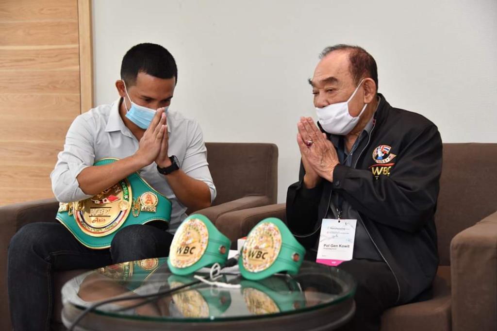 """""""อัจฉริยะ"""" ได้โอกาสทวงแชมป์ WBC Asia หลังเป็นแพะคดียาเสพติดนาน 14 เดือน"""