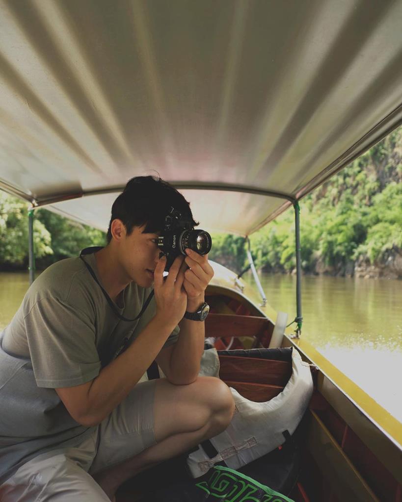 ล่องเรือในแม่น้ำแควน้อย (IG : mark_prin)