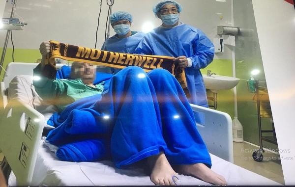 นักบินอังกฤษป่วยโควิดขั้นโคม่าในเวียดนามอาการดีวันดีคืนใกล้ออกจากโรงพยาบาลเร็วๆ นี้