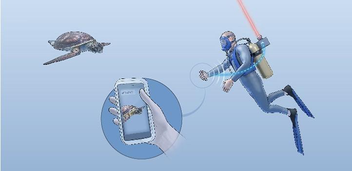 """""""Wi-Fi ใต้น้ำ"""" แจ้งเกิดครั้งแรก ปูทางนักดำน้ำออนไลน์ผ่านเลเซอร์"""