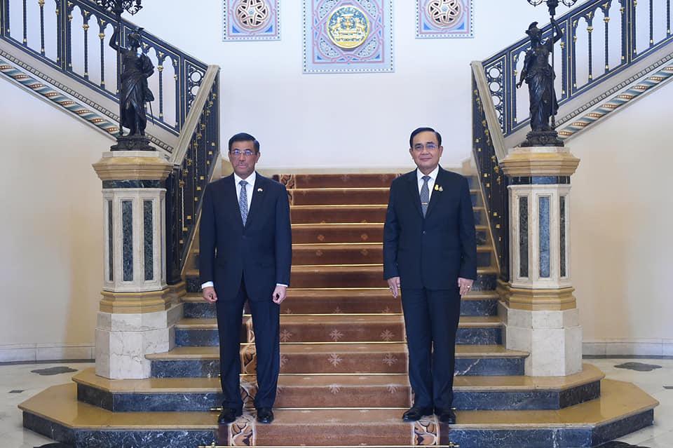 นายกฯ พบ ทูตอินโดฯ ชื่นชมความสัมพันธ์ปละจากจัดการโควิด-19 ของไทย