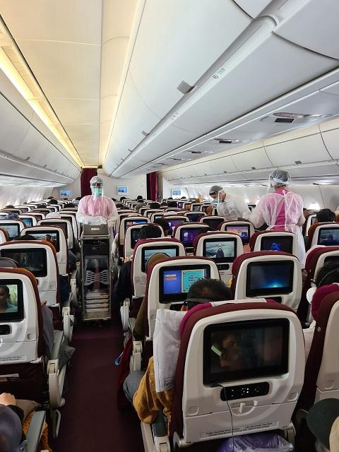 การบินไทยรับคนไทย436 คน จากออสเตรเลีย,อินโดนีเซีย,นิวซีแลนด์ เป็นครั้งที่ 5