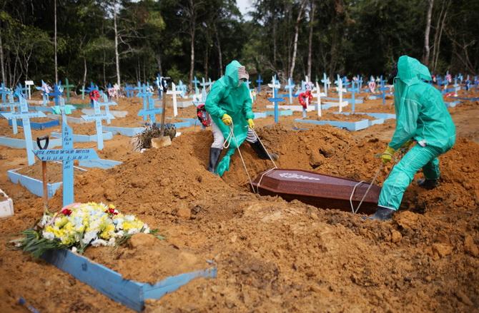 ชาติที่ 2 ของโลก! บราซิลยอดติดเชื้อโควิดสะสมทะลุ 1 ล้าน หลังพบรายใหม่วันเดียว 5.4 หมื่นคน