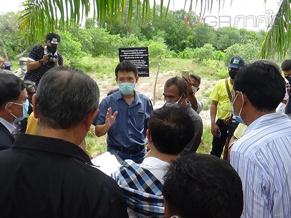 กมธ.พิจารณาศึกษาปัญหาที่ดินฯ ลงตรวจสอบพื้นที่ป่าประกาศทับที่ทำกินชาวบ้านตรัง