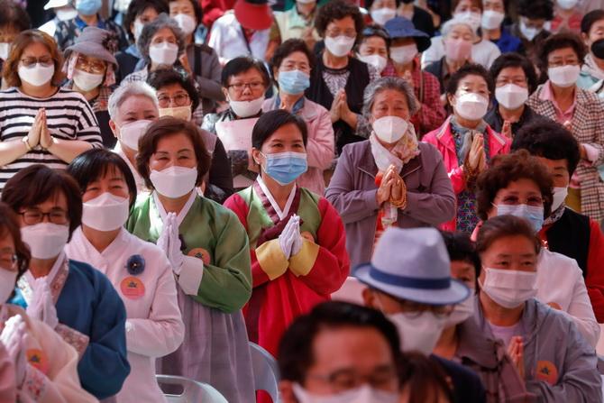 สถิติใหม่ติดเชื้อวันเดียว183,000ราย เกาหลีใต้รับ'ระบาดรอบ2'ตั้งแต่ต้นพค.