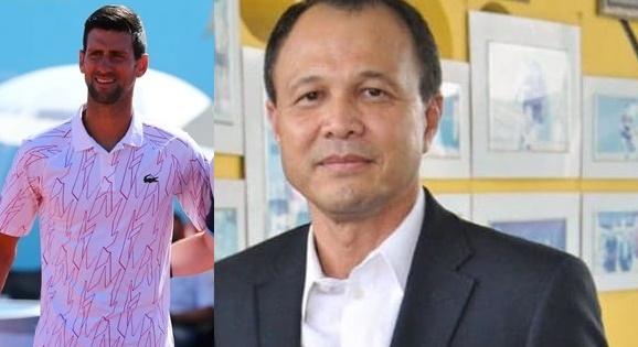 """นายกลอนเทนนิสไทย หวั่นกรณี """"โยโควิช"""" ติดโควิดทำเลื่อนโปรแกรมแข่งยกกระบิ"""