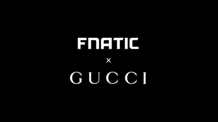 """ทีม """"Fnatic"""" ผนึกพาร์ทเนอร์ """"Gucci"""" แบรนด์แฟชันหรูจากอิตาลี"""