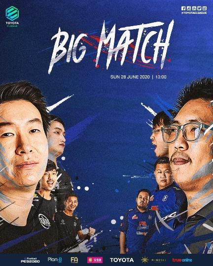 บุรีรัมย์ ปะทะ บีจี ชิงจ่าฝูง Toyota E-League 2020