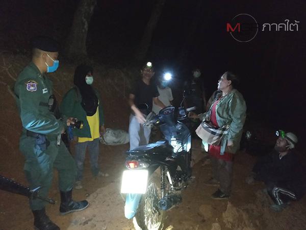 จับ 6 แรงงานไทยหนีกลับจากมาเลเซีย ผ่านช่องทางธรรมชาติแนวชายแดนที่สงขลา