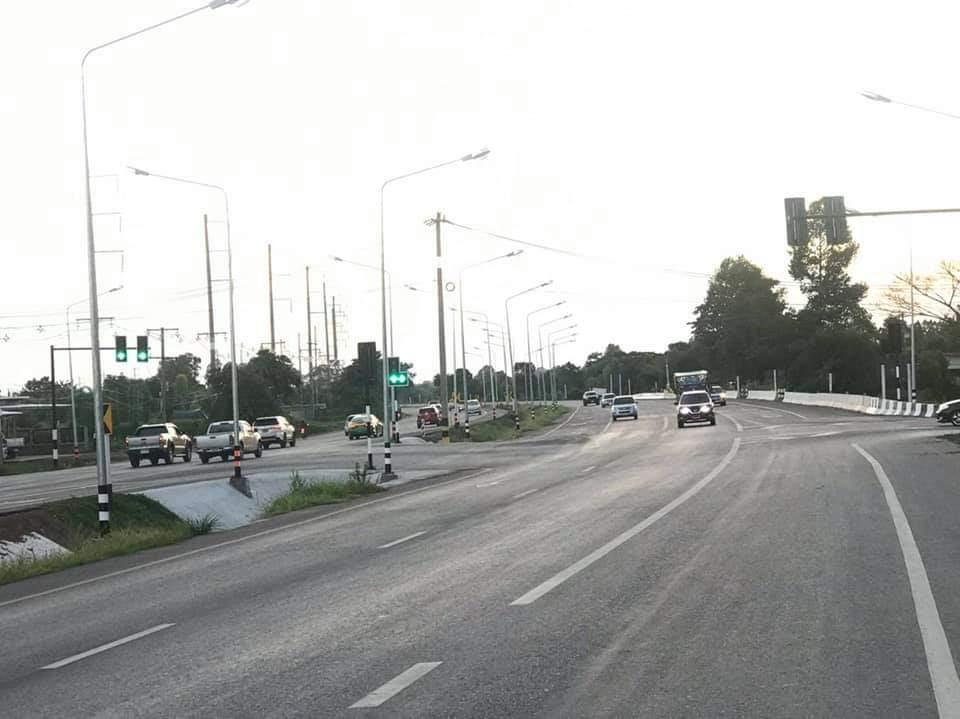 เสร็จแล้ว! ขยาย4 เลน ถ.วงแหวนรอบเมืองร้อยเอ็ด ช่วยแก้รถติดตัวเมือง