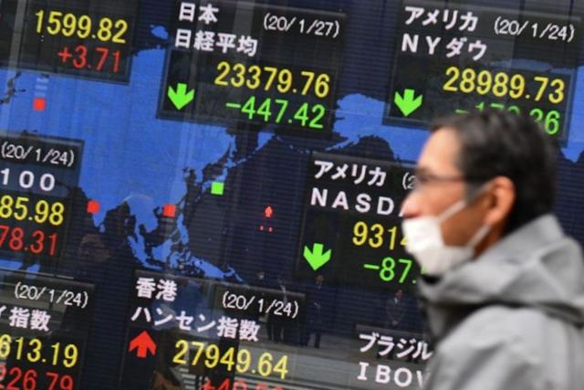 ตลาดหุ้นเอเชียปรับลบ นักลงทุนวิตกยอดผู้ติดเชื้อโควิดพุ่งต่อเนื่องทั่วโลก