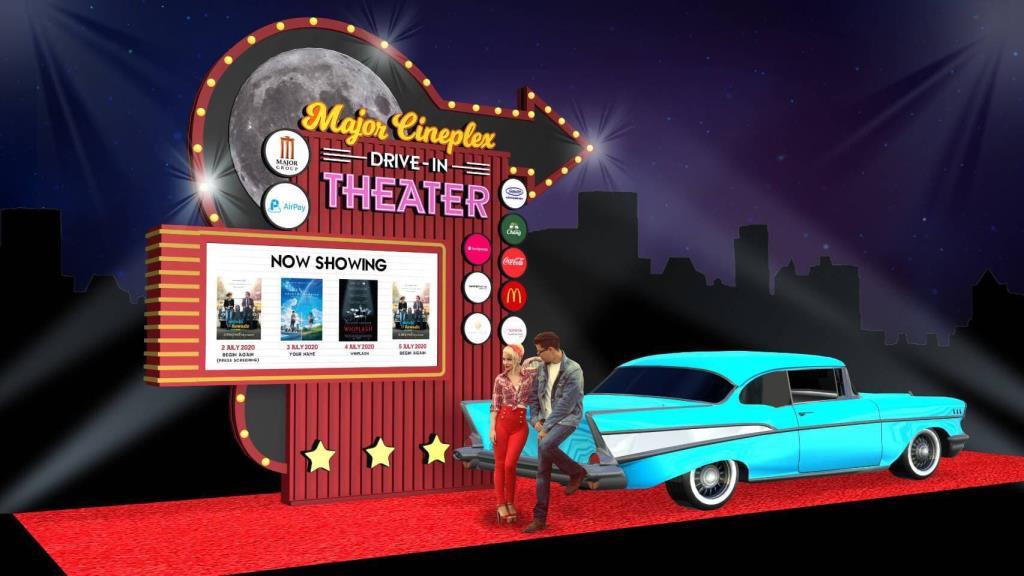 """โรงหนังเปิดศึก Drive-in """"เมเจอร์"""" ประหมัด """"เอสเอฟ""""  กระตุ้นตลาดคืนสู่จอเงิน สปอนเซอร์ซ้ำหน้ากัน"""