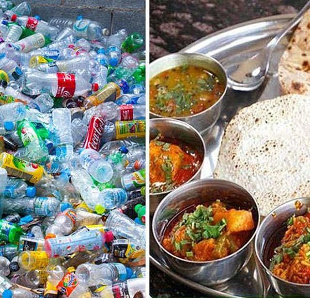 Garbage Café  คาเฟ่แห่งแรกในอินเดียที่เปิดให้ลูกค้าใช้ 'ขยะพลาสติก' จ่ายค่าอาหาร