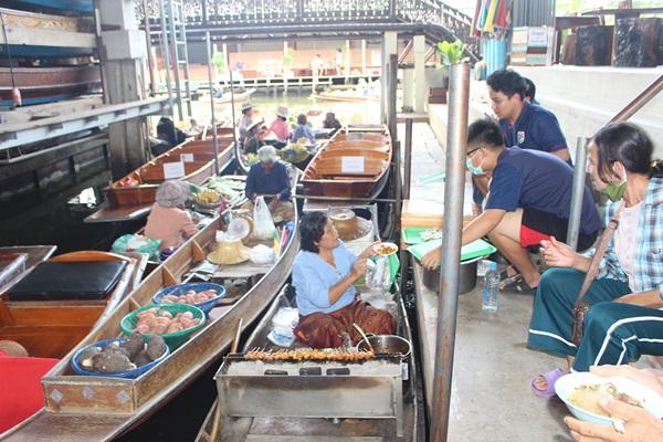 ททท.ราชบุรี  จัดโปรกระตุ้นท่องเที่ยวตลาดน้ำดำเนิน หลังคลายโควิด19