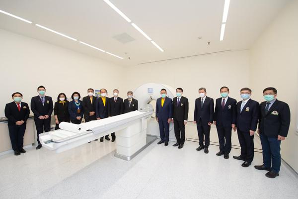 มูลนิธิเอสซีจี มอบเครื่อง CT Scan วินิจฉัยโควิด-19 ให้โรงพยาบาลรามาธิบดีจักรีนฤบดินทร์ มูลค่า 14 ล้านบาท