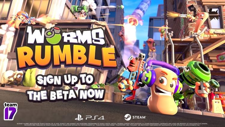 """แจมด้วย! """"Worms Rumble"""" สละเทิร์นเบส สู่แบทเทิลรอยัล """"หนอนยืนหนึ่ง"""""""