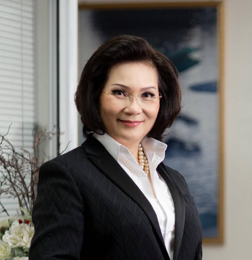 คุณหญิงปัทมา ลีสวัสดิ์ตระกูล ไอโอซีเมมเบอร์หญิงชาวไทย
