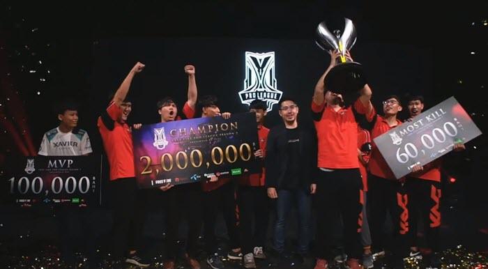 ทีม KOG ฟอร์มดี คว้าแชมป์ Free Fire Pro League แฟนเกมแห่ชมกว่า 240,000 คน