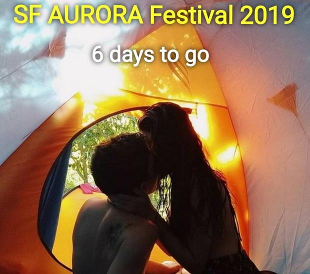 (แฟ้มภาพ) ภาพโฆษณาประชาสัมพันธ์ Aurora Lifestyle Festival เมื่อปี 2019