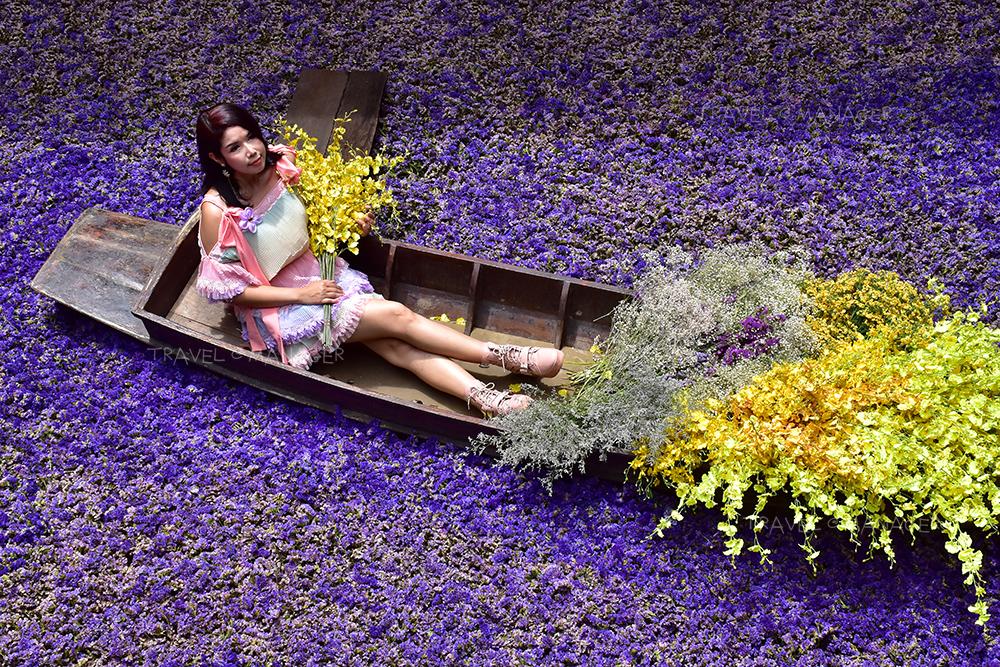 """เนรมิต """"ชุมชนตลาดเก่าหัวตะเข้"""" เติมสีสันด้วยดอกไม้สะพรั่ง เริ่มวันนี้ - 4 ส.ค.63"""