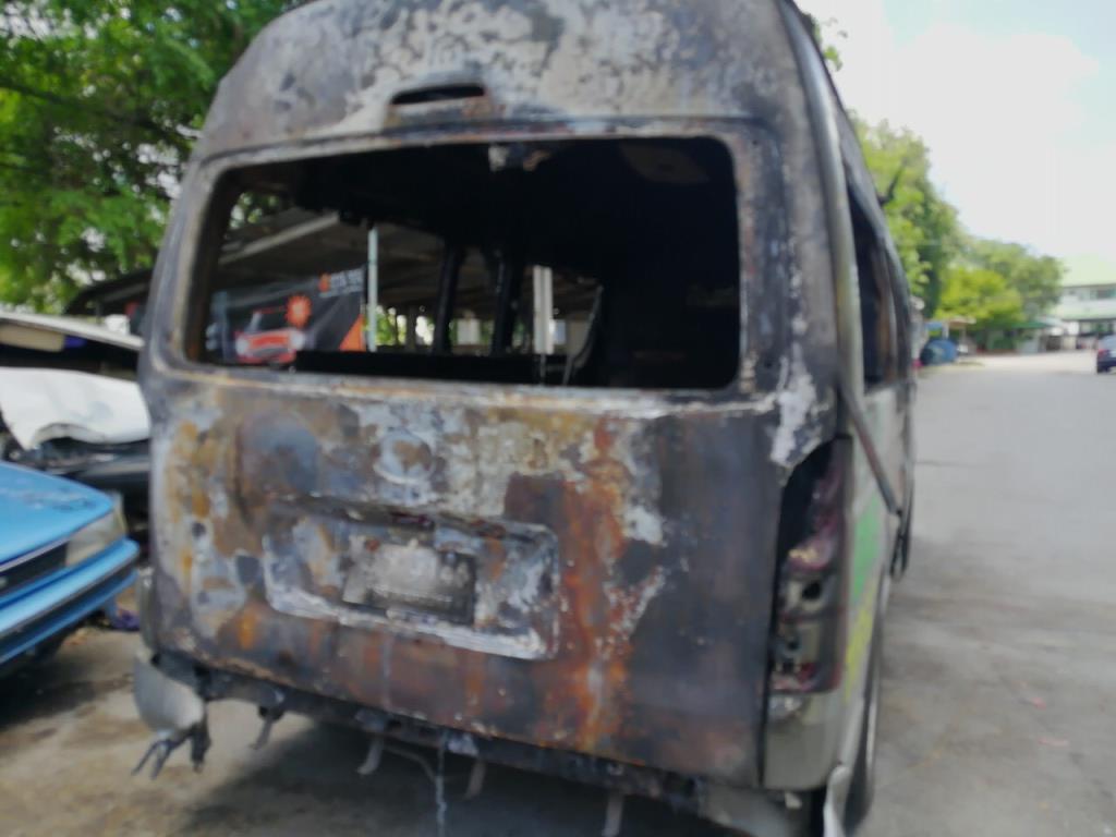 สมอ.เผยเหตุไฟไหม้ถังออกซิเจนในรถกู้ภัยที่สุพรรณบุรี จากปัญหาก๊าซรั่ว