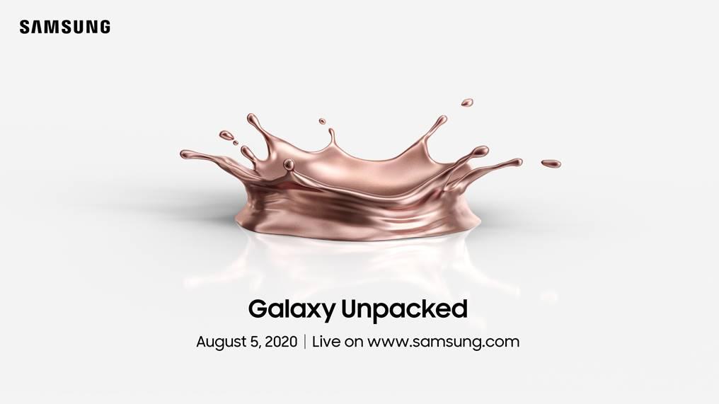 Samsung ประกาศจัดงานเปิดตัว Galaxy รุ่นใหม่ 5 สิงหาคมนี้