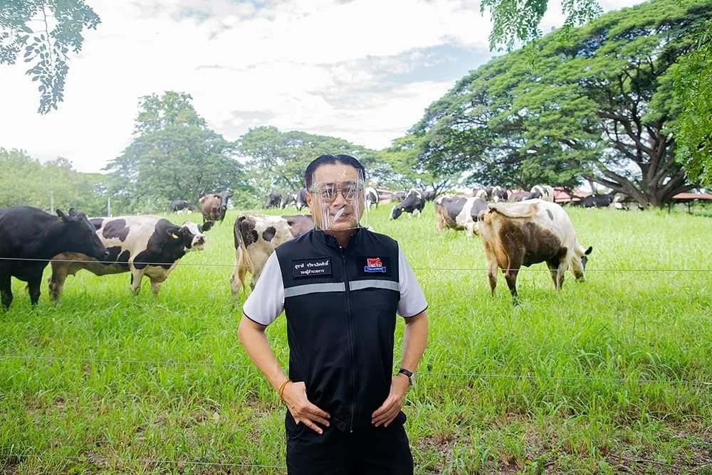 ฟาร์มโคนมไทย-เดนมาร์ค รับสัญลักษณ์ SHA