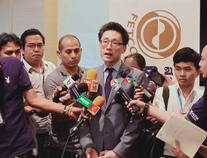 นายไพบูลย์ นลินทรางกูร ประธานสภาธุรกิจตลาดทุนไทย หรือ FETCO
