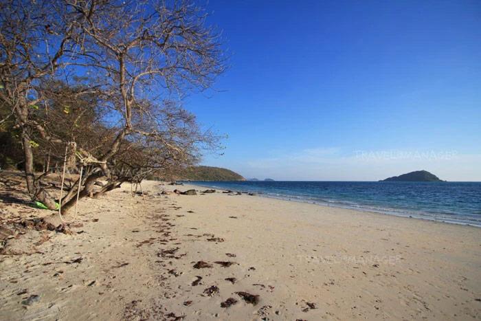 หาดนางรำ - หาดนางรอง  ได้รับตรามาตรฐาน SHA