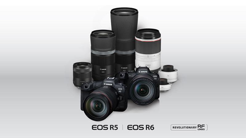 แคนนอน เสริมไลน์กล้องมิเรอร์เลสฟูลเฟรม ด้วย EOS-R5 / R6