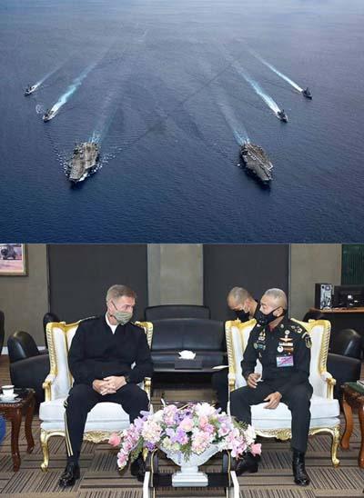 """ทำไม ผบ.ทบ.สหรัฐฯ ต้องมาไทย หรือประเด็นใหญ่อยู่ที่การตั้ง """"ฐานทัพ"""""""