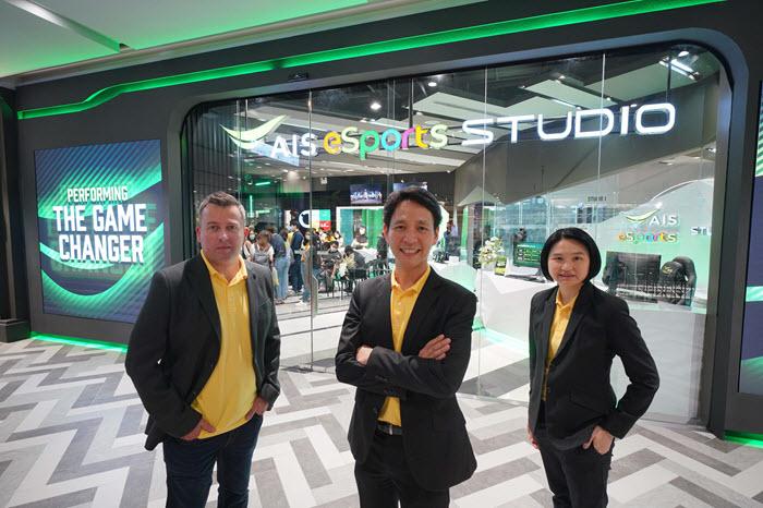 """AIS 5G ติดปีกอุตสาหกรรมอีสปอร์ต เปิดตัว """"AIS eSports STUDIO"""""""