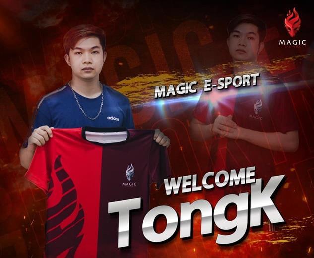 """""""Goldencat Gaming"""" ประกาศปล่อยผู้เล่นสำคัญ """"TongK"""" ออกจากทีม เจ้าตัวเผย """"อยากออกไปหาประสบการณ์"""""""