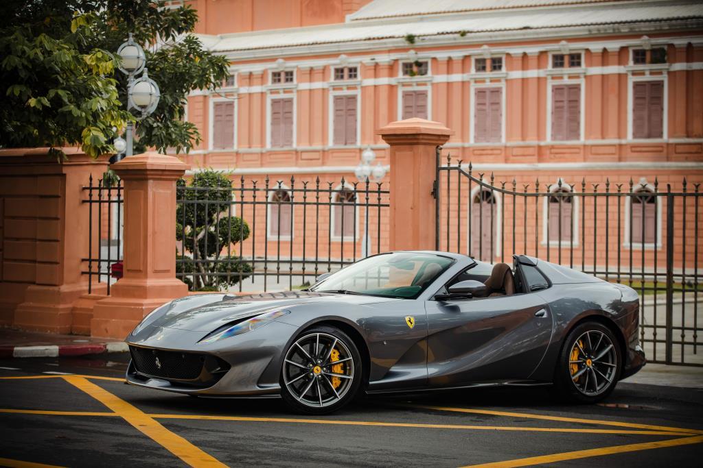 คืนชีพตำนาน V12 เปิดประทุน 812 GTS ขายเริ่ม 34,700,000 บาท