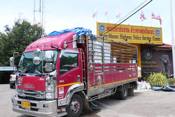ตำรวจทางหลวงจับรถบรรทุกลักลอบขนใบกระท่อมได้กว่า 300 กิโลกรัม